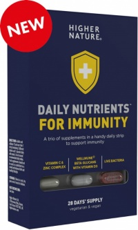 Higher Nature Daily Nutrients for Immunity (28 Blister)