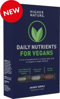 Higher Nature Daily Nutrient for Vegans (28 Blister)