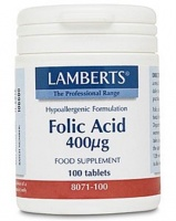 Lamberts Folic Acid (100)