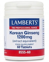 Lamberts Korean Ginseng 1200mg (60)