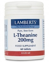 Lamberts L-Theanine 200mg (60)