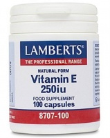 Lamberts Natural VITAMIN E 400iu - caps