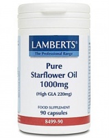 Lamberts Pure Starflower Oil 1000mg - 90