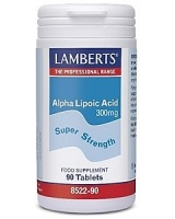 Lamberts Alpha Lipoic Acid 300mg (90)