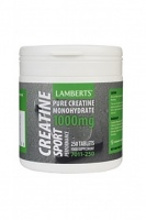 Lamberts Performance Creatine Tablets 1000mg - 250