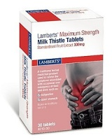 Lamberts Maximum Strength Milk Thistle 300mg Tablets (30)