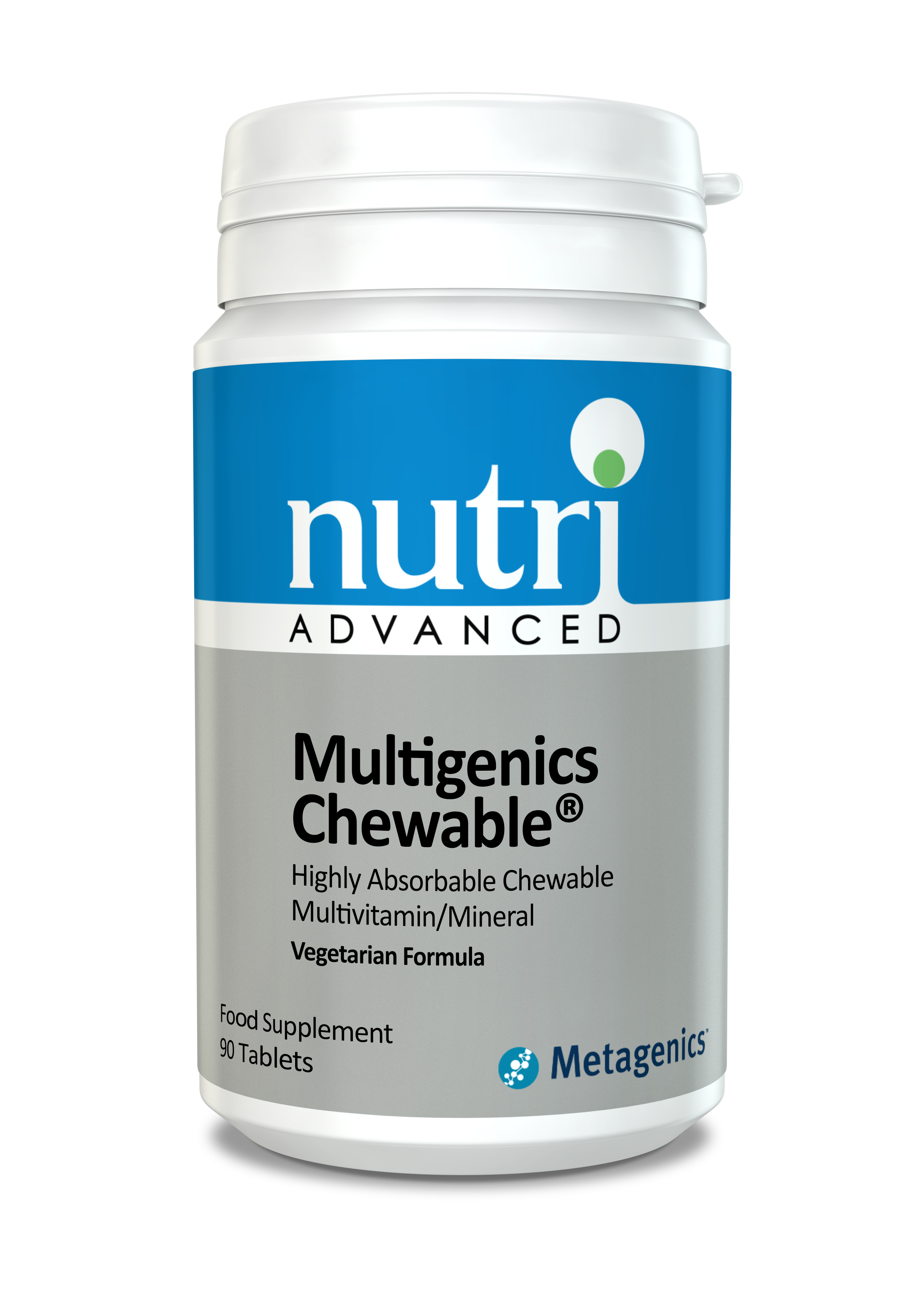 Nutri Advanced Multigenics Chewable - 90