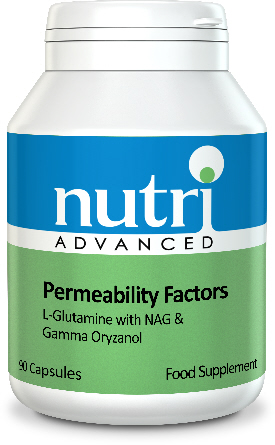Nutri Advanced Permeability Factors L-Glutamine Plus Synergistic Factors - 90 SALE