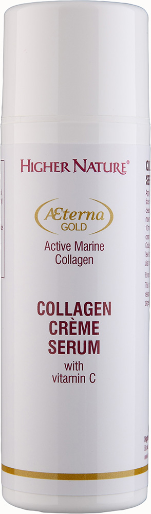 Higher Nature AEterna Gold Collagen Creme Serum