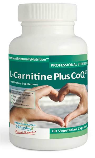 Good Health Naturally L-Carnitine + CoQ10 Caps (60)