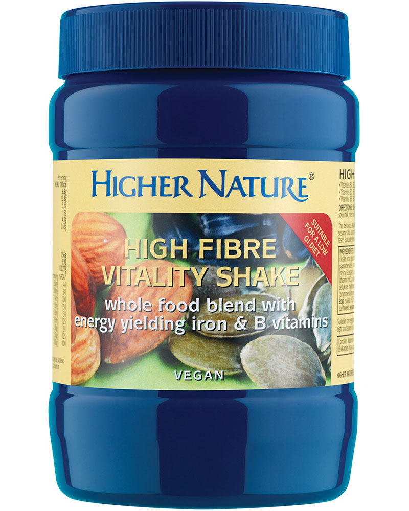 Higher Nature High Fibre Vitality Shake Size 270