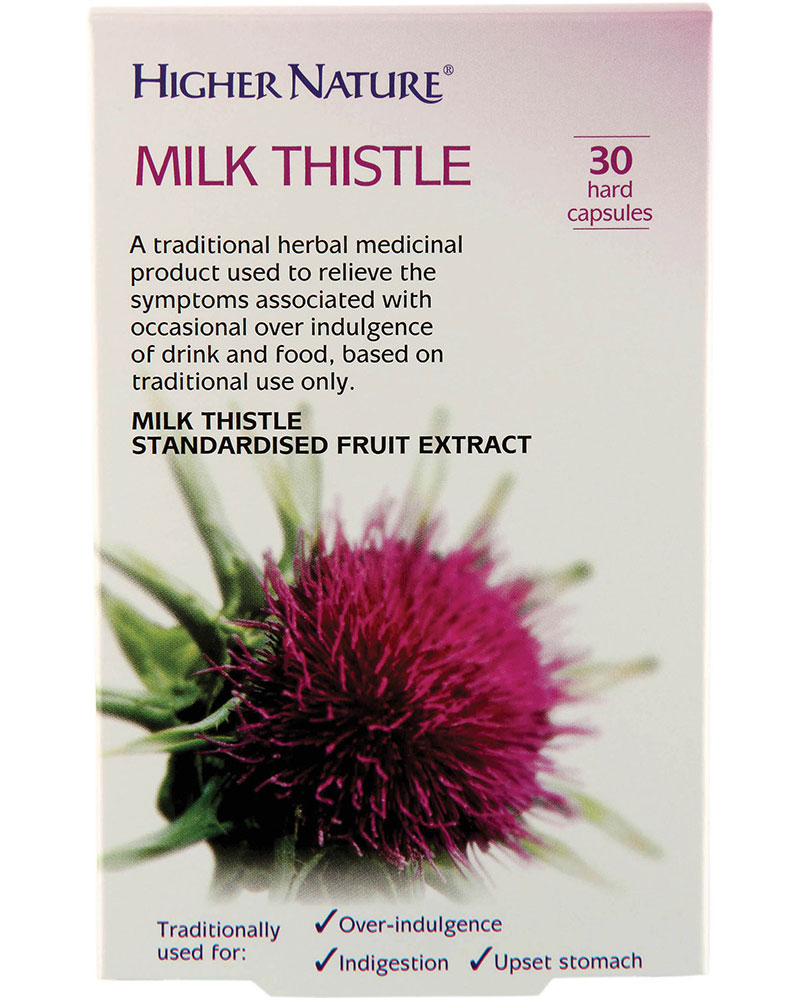 Higher Nature Milk Thistle - 30