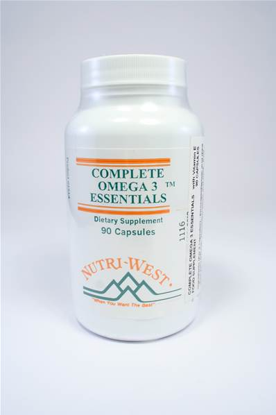 Nutri-West Complete Omega-3 Essentials - 90 caps
