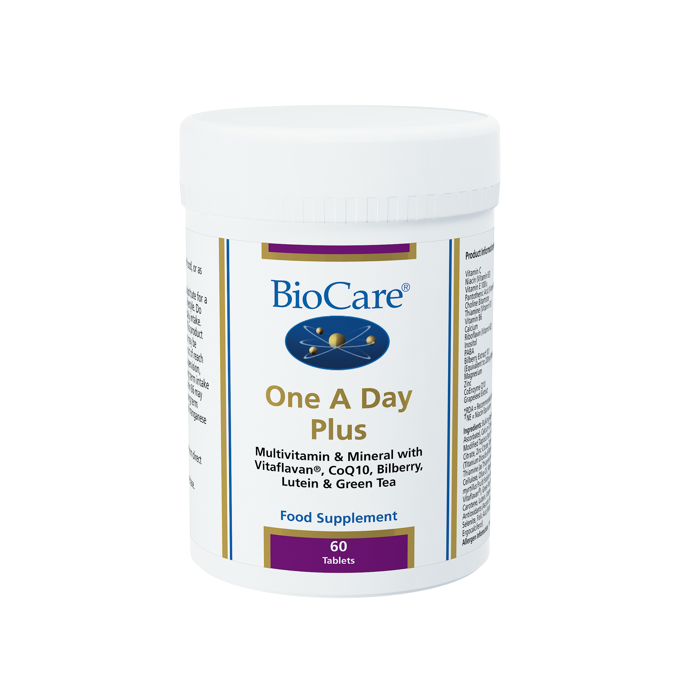 BioCare One A Day PLUS Multivitamins