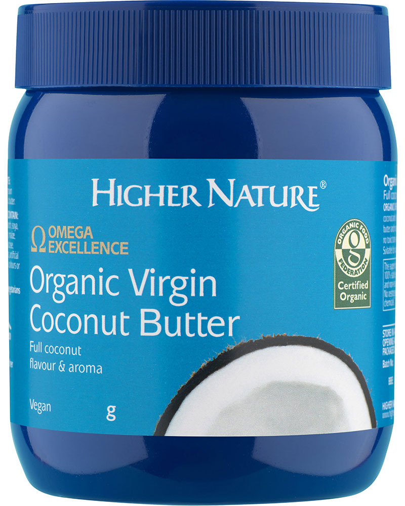 Higher Nature Organic Virgin Coconut Butter