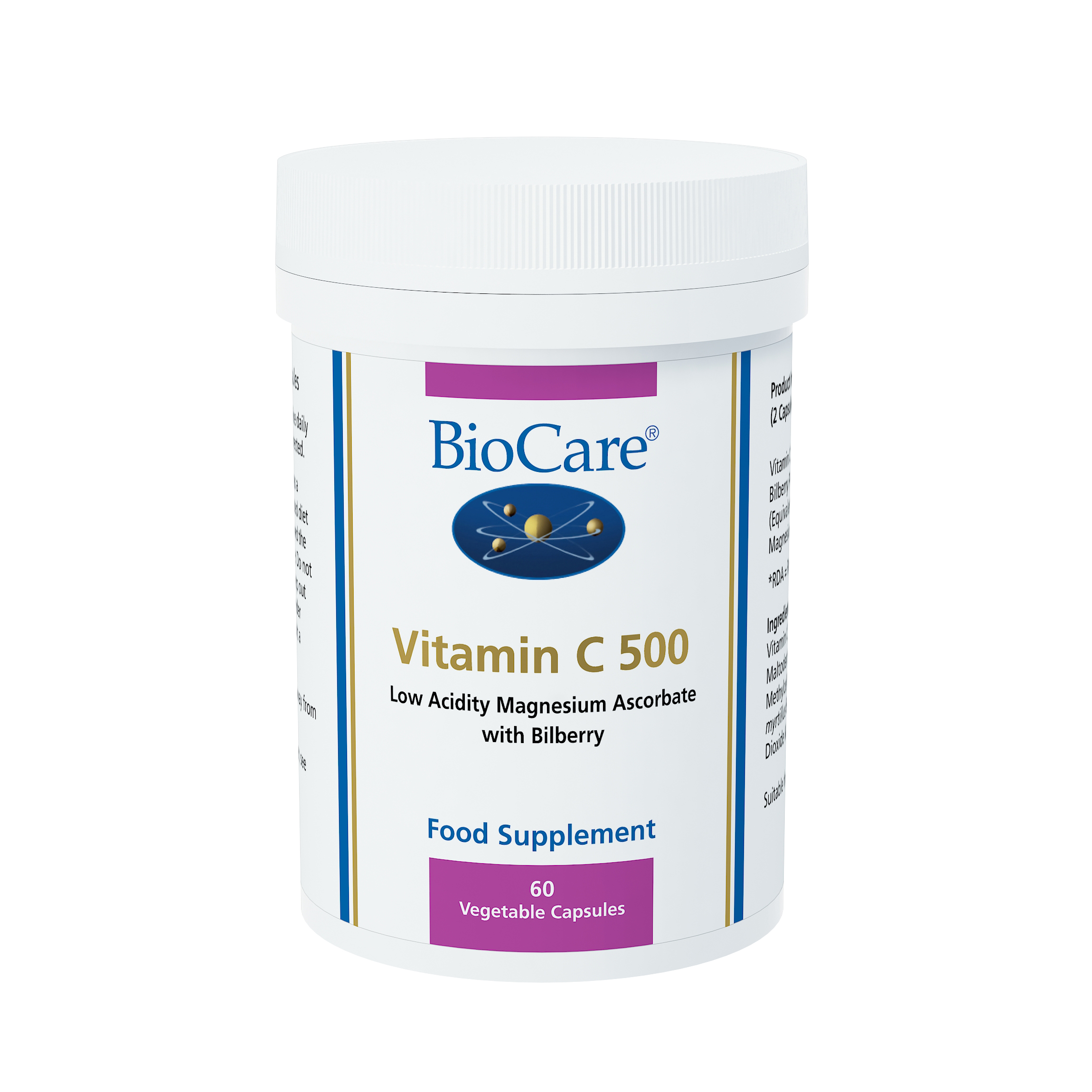 BioCare Vitamin C 500mg