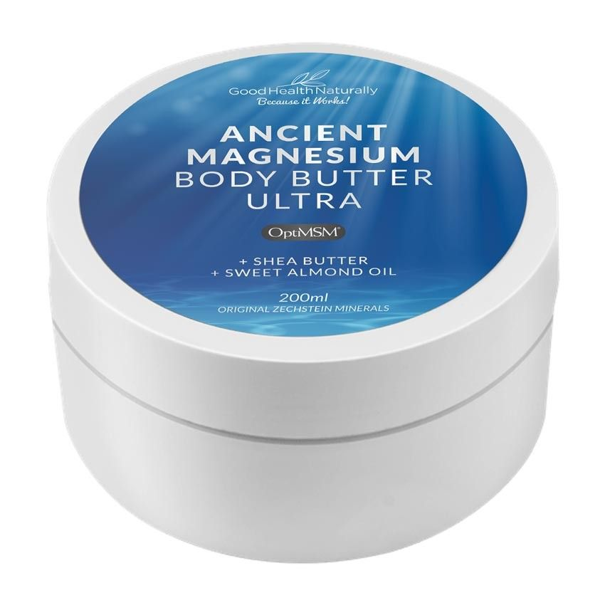 Good Health Naturally Ancient Magnesium Body Butter Ultra 200ml
