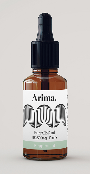 Arima 5% MCT CBD Oil 10ml - 4 flavour options.