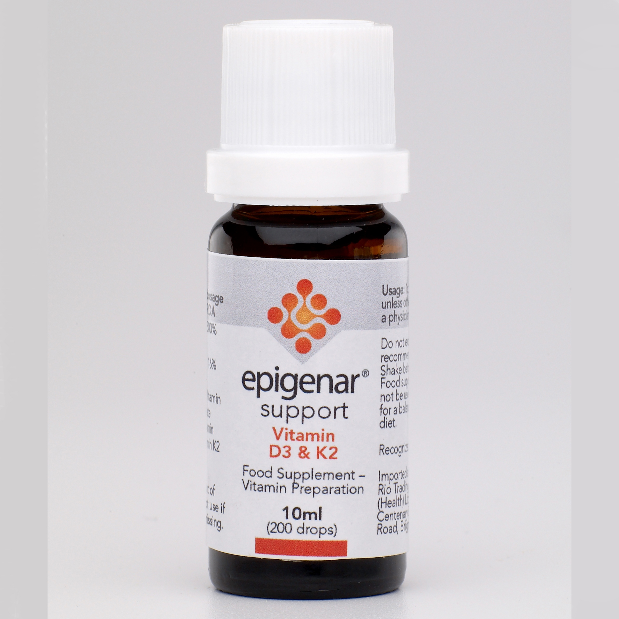Epigenar Vitamin D3 and K2 Drops