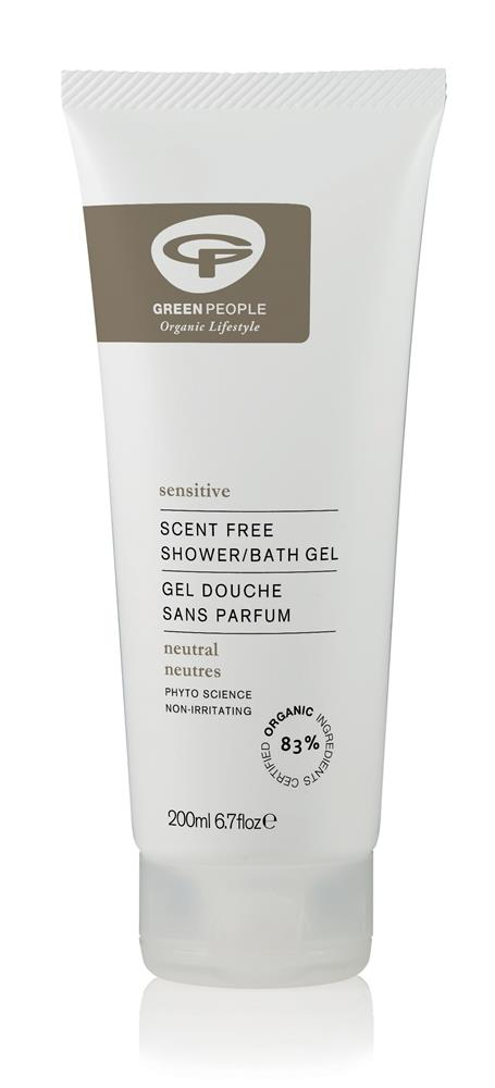 Green People Neutral Scent Free Shower Gel (200ml)