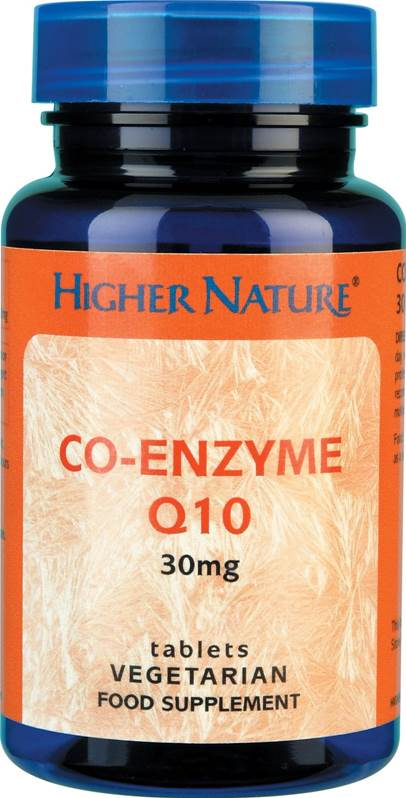 Higher Nature Co-Enzyme Q10 30mg