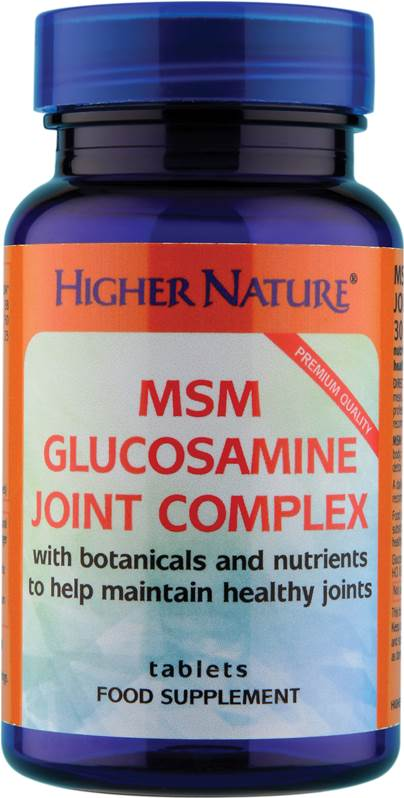 Higher Nature MSM Glucosamine Joint Complex