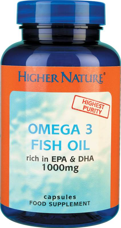 Higher Nature Omega 3 Fish Oil