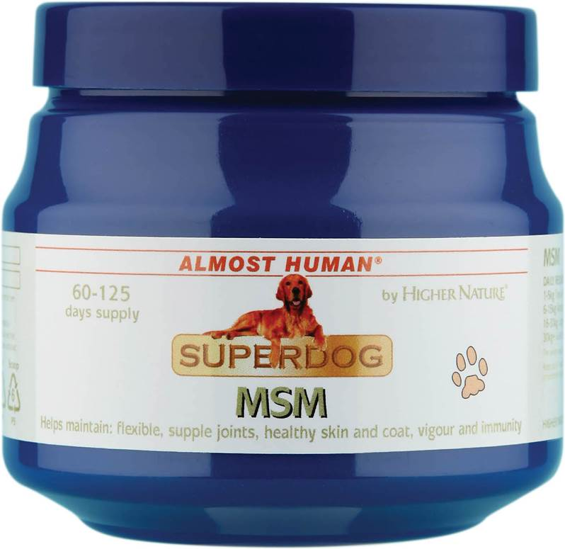 Higher Nature Almost Human SuperDog MSM Size 50
