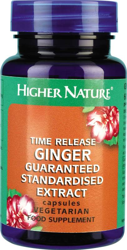 Higher Nature Time Release Ginger