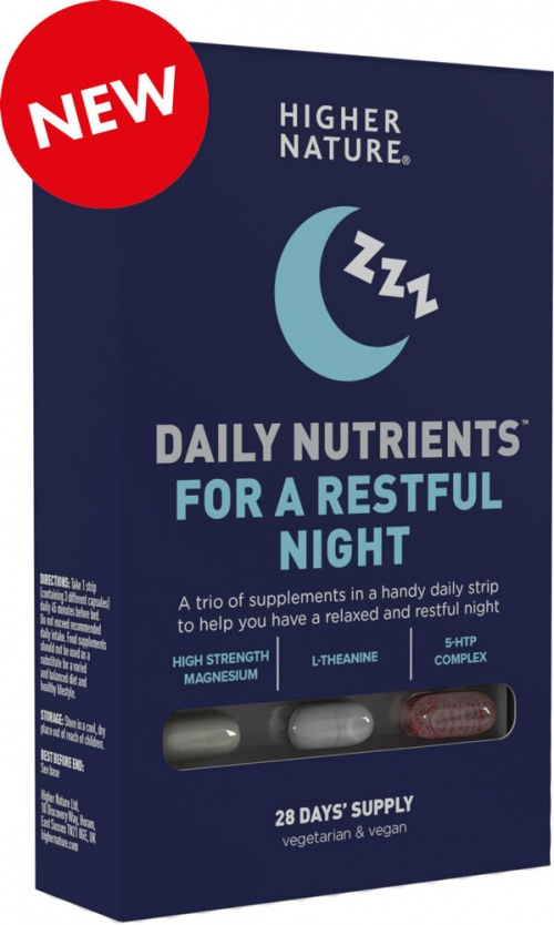 Higher Nature Daily Nutrients for a Restful Night (28 Blister)