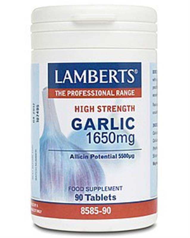 Lamberts Garlic 1650mg (90)