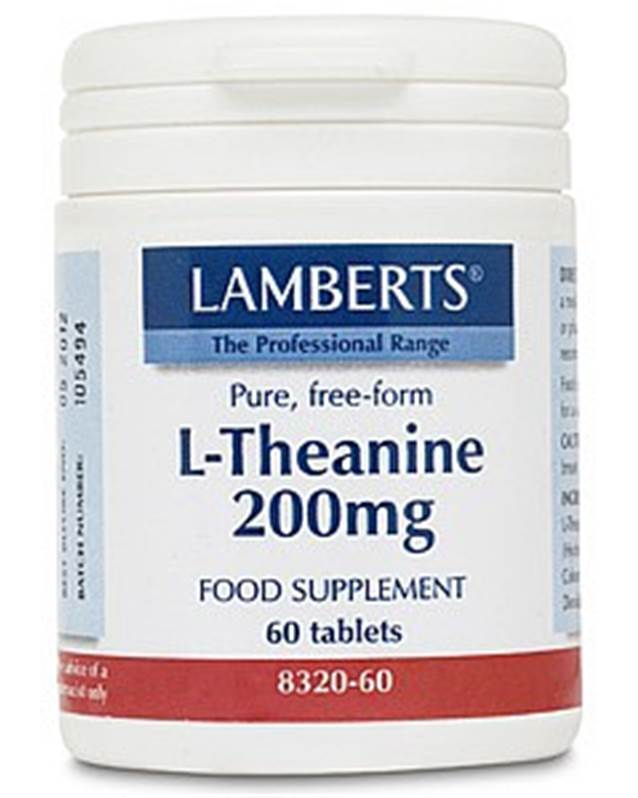 Lamberts L-Theanine 200mg (60) SALE