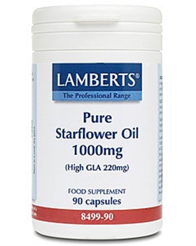 Lamberts Pure Starflower Oil 1000mg - 90 SALE