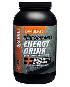 Lamberts Performance Energy Drink - Orange flavour - 1000g