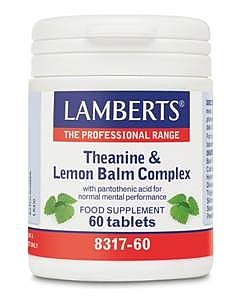 Lamberts Theanine & Lemon Balm Complex (60)