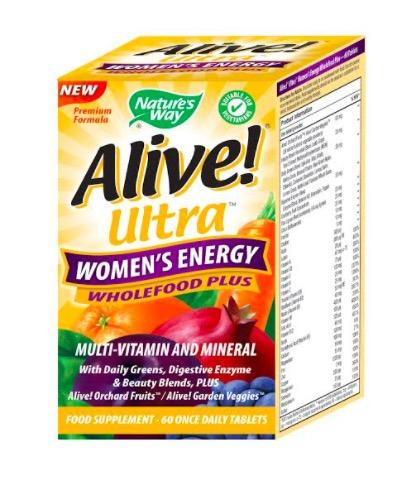 Nature's Way Alive! Ultra Women's Energy