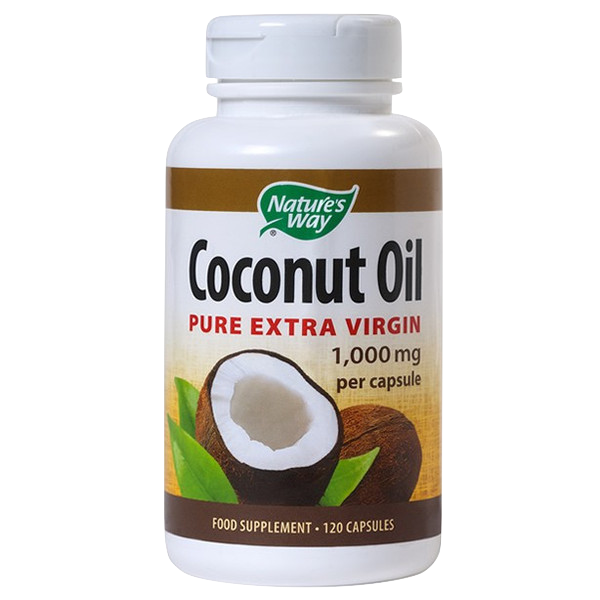 Nature's Way Coconut Oil 120 Caps