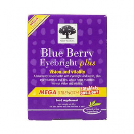 New Nordic Blue Berry - Mega Strength - 30 Tablets