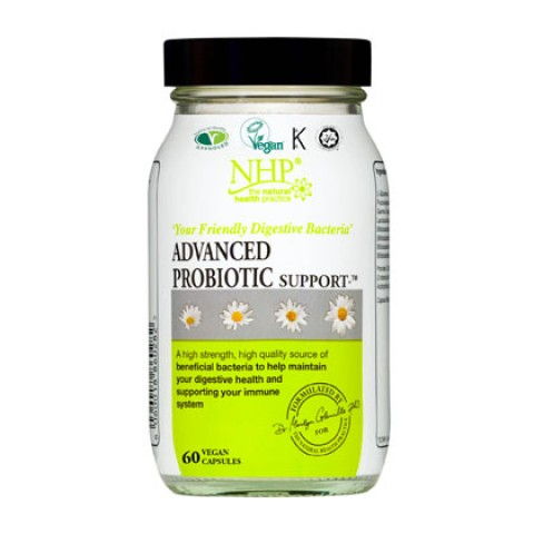 Natural Health Practice Advanced Probiotic Support Capsules (60)