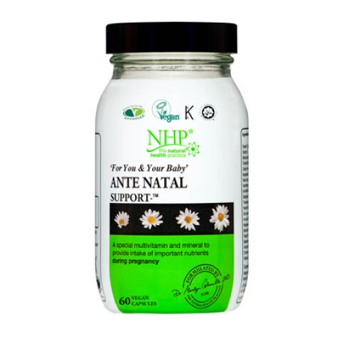 Natural Health Practice Ante Natal Support Capsules (60)
