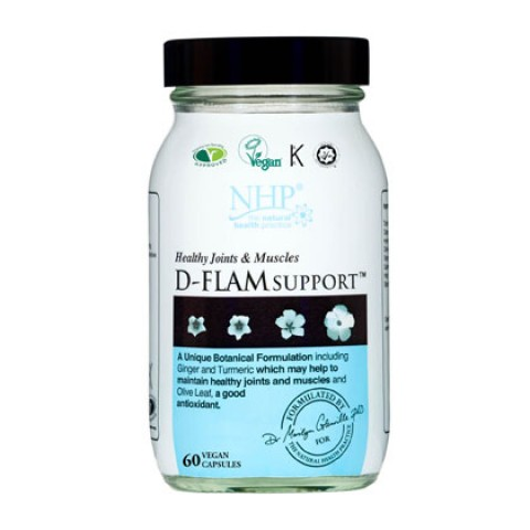 Natural Health Practice D-Flam Support Capsules (60)