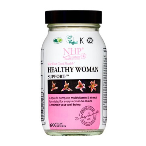 Natural Health Practice Healthy Woman Support Capsules (60)