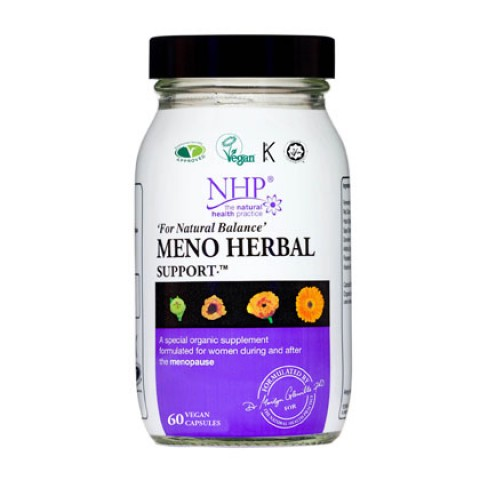 Natural Health Practice Meno Herbal Support Capsules (60) 20% off