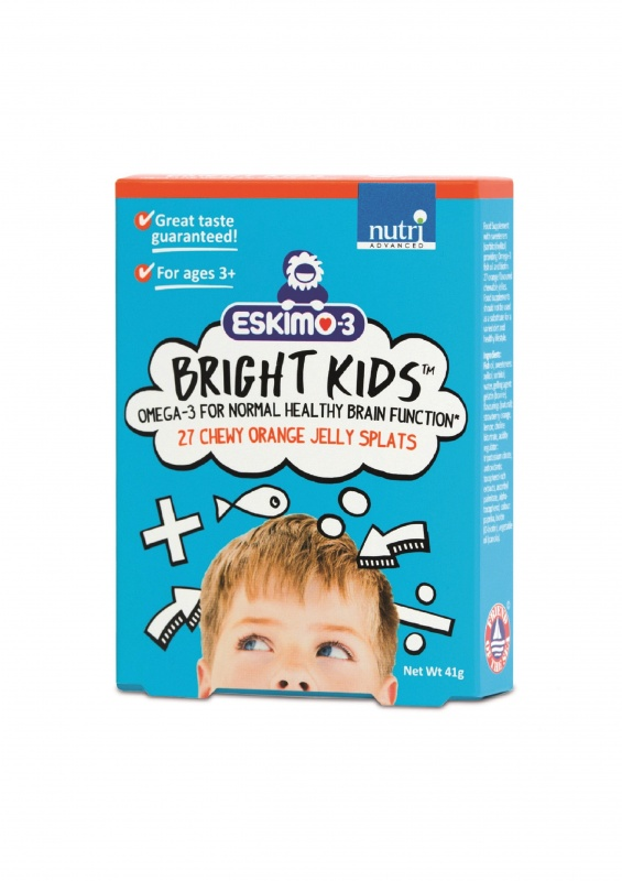 Eskimo Bright Kids Orange Jelly Splats