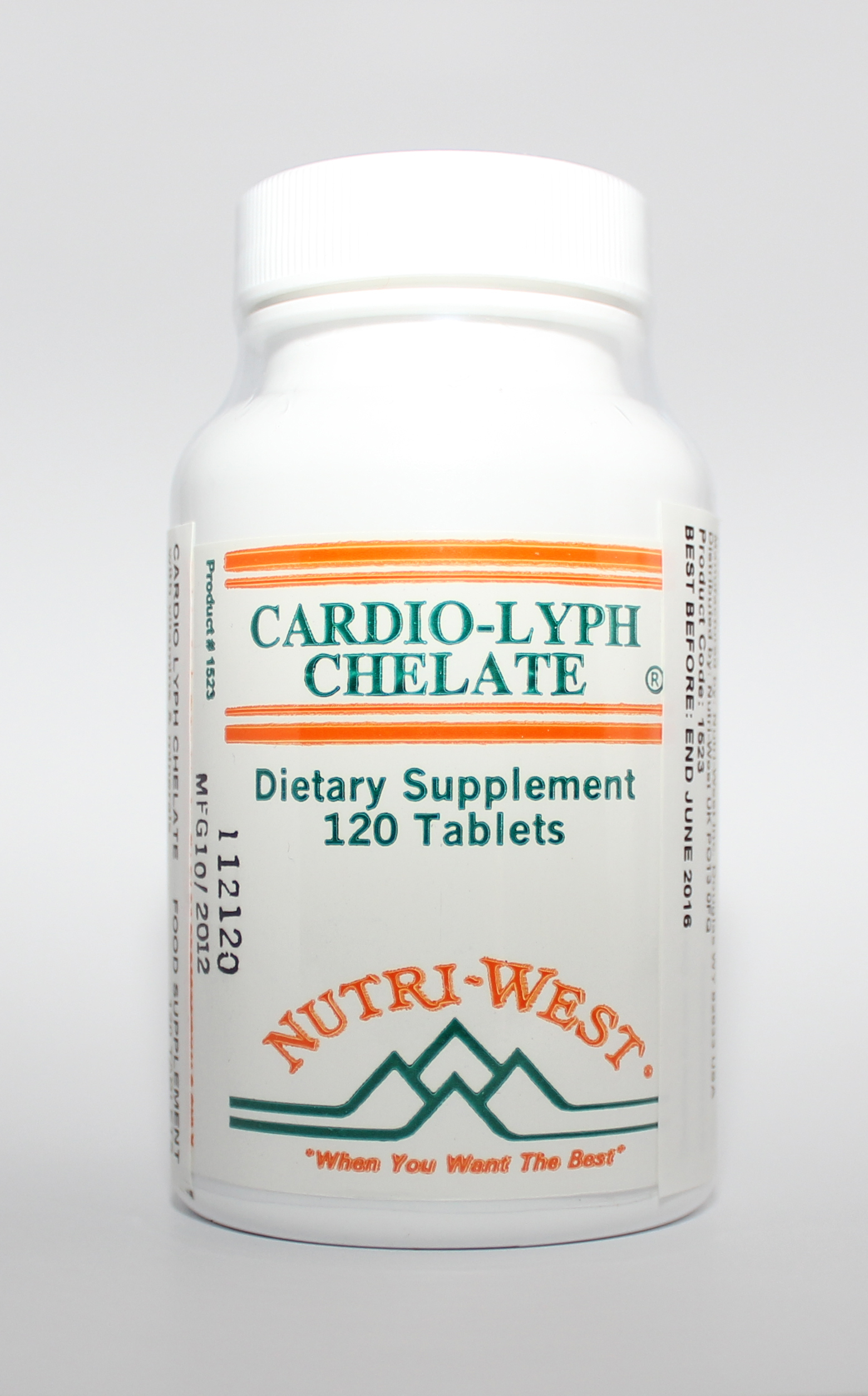 Nutri-West Cardio-Lyph-Chelate - 120