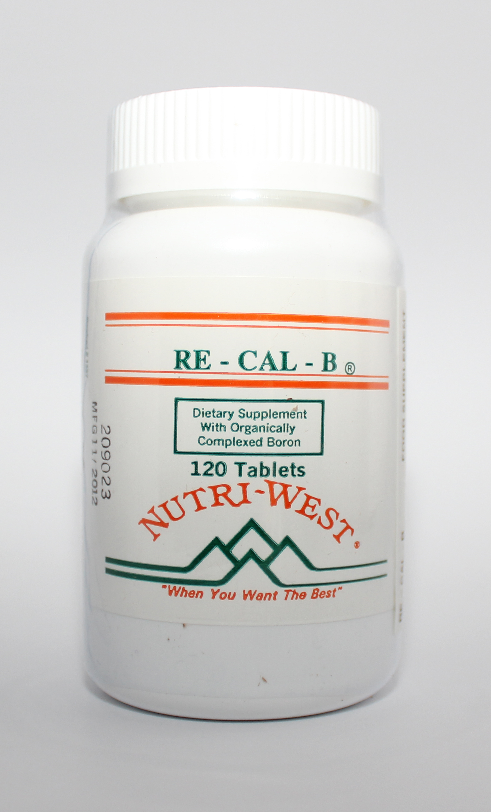 Nutri-West Re-Cal-B - 120 tabs