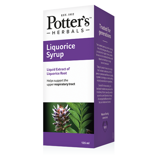 Potter's Herbals Liquorice Mixture 135ml