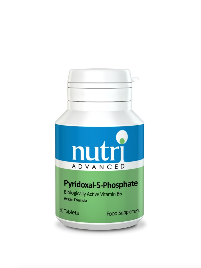 Nutri Advanced Pyridoxal-5-Phosphate 90 Tabs