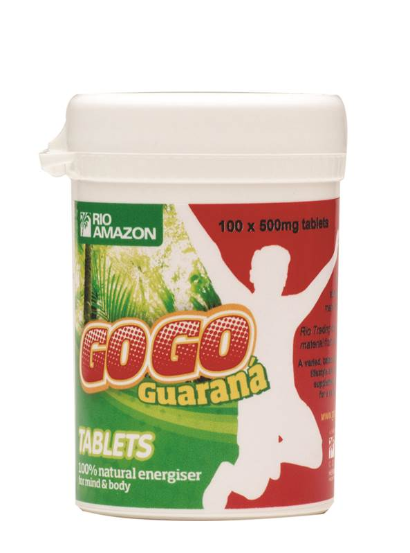 Rio Amazon GoGo Guarana 500mg