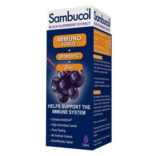 High Nature Sambucol Immuno Forte - 120ml